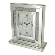 Square Crystal Table Clock 1