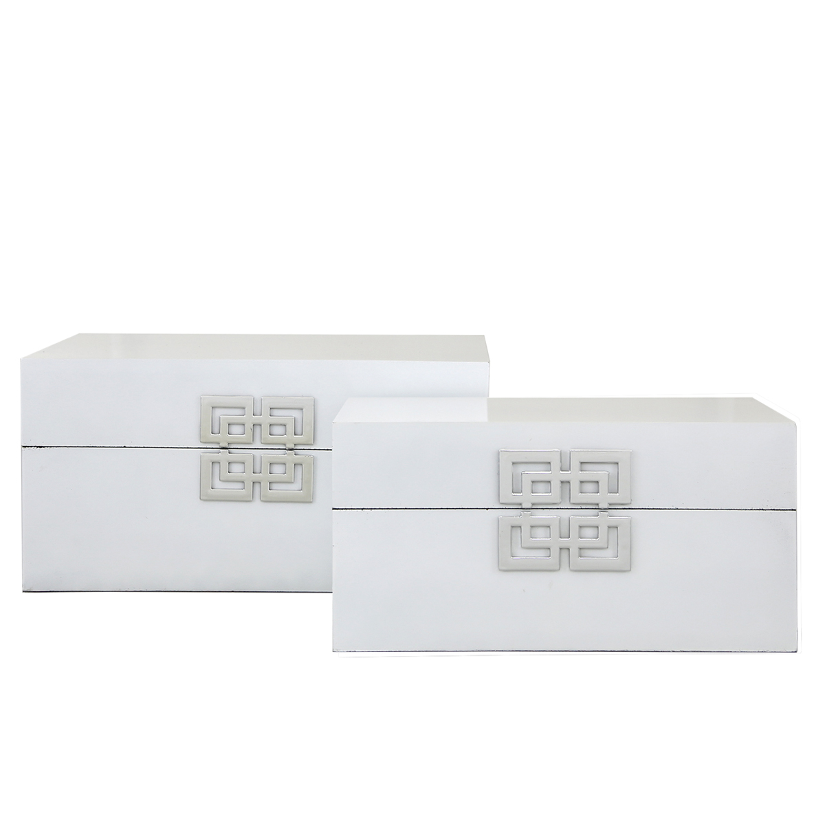 Set of 2 White Boxes – Frame Of Mine Belfast