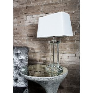 Crystal Table Lamp 66cm
