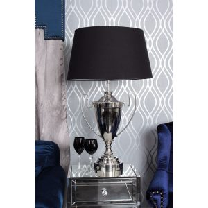 Trophy Table Lamp Black
