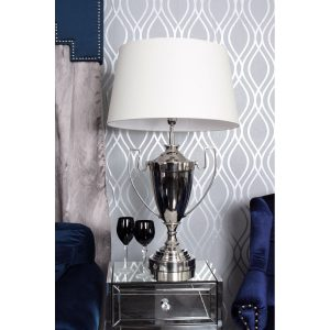 Trophy Table Lamp Cream