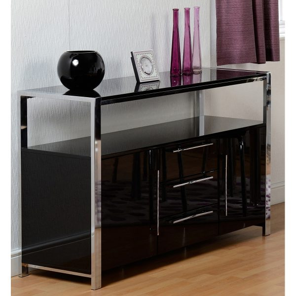 Black Gloss Sideboard Situ Web