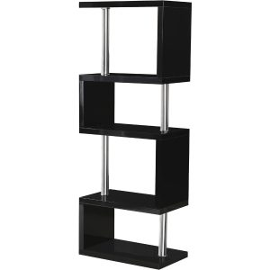 S range black gloss 5 tier unit