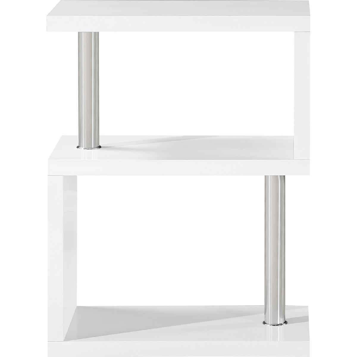 S Range White Gloss 3 shelf unit – Frame Of Mine Belfast