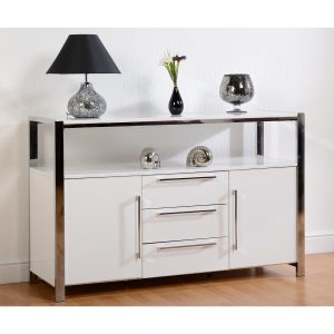 White Gloss Sideboard Situ Web