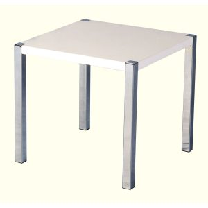 White gloss side table web