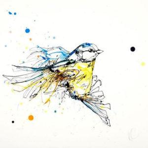 Flight limited edition print by Kathryn Callaghan