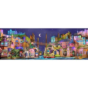Causeway Bay Limited Edition art print by Keith Drury