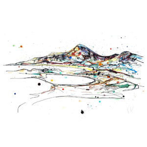 Mountains Of Mourne limited edition art print by Kathryn Callaghan