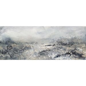 Panoramic III Original mixed media abstract painting by Belfast based artist Jane Donaldson