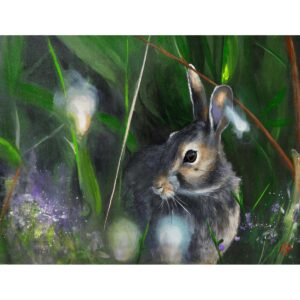 The Spring Hare Original on board by Aidan Sloan