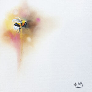 Bumblebee - Pink by Alison McIlkenny