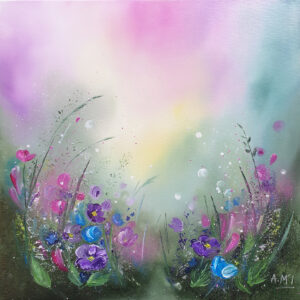 Wildflower Melody I by Alison McIlkenny