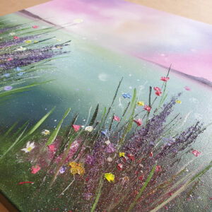 Wildflower Melody II by Alison McIlkenny detail