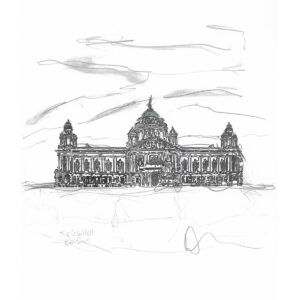 City Hall Belfast Limited edition print by Danielle Wallace