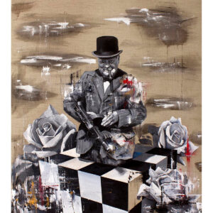 Winston Limited Edition art print by Tommy Fiendish